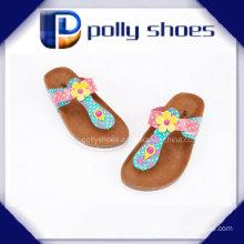 2016 Facny Ladies Cork Sandal High Quality Cheap Price