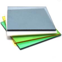 Placa sólida de policarbonato transparente de plástico