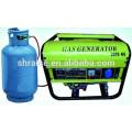 Générateur de GPL / GNV à faible émission d'environnement 5.5KW
