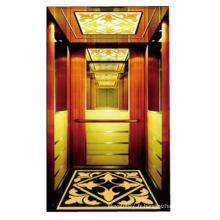 Ascenseur de construction de luxe avec petite machine-salle