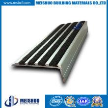 Grit Surface Aluminum Step Anti Slip Nosings for Pedestrian Pathways (MSSNC-10)