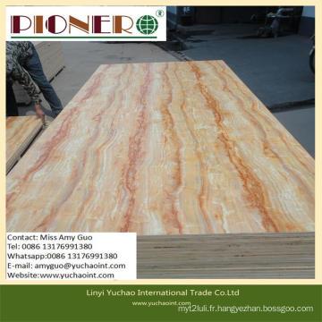 Panneau de noyau en bois solide pour la décoration intérieure sans formaldéhyde