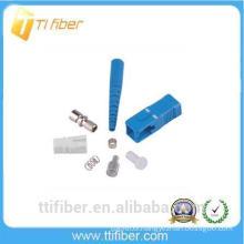 SC/UPC fiber optic connector for 0.9, 2.0,3.0mm fiber patch cord