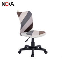 Nova Easy Home Cute Fabric Swivel Office Work Chair Without Armrest