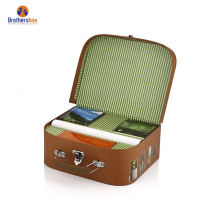 Production hot sale big suitcase packaging boxes birthday storage box long gift box