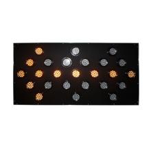 Lámparas de tablero de flecha led de tráfico de lámpara de aluminio de 100 mm