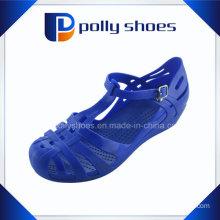 Wholesale Hollow Breathable Blue Latest Ladies Sandal