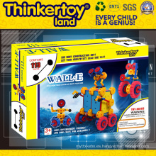 2015 Venta caliente engranaje conjunto DIY niños juguete bloques de construcción