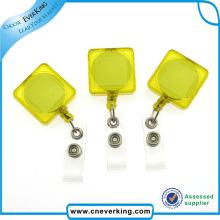 Transparente quadratische Form einziehbare Pull-Reel
