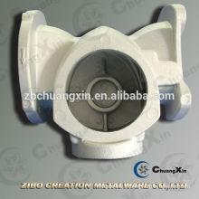 Boîtier de pompe à débit en aluminium A356 avec moulage par gravité