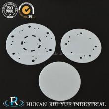 Pequeño aislamiento eléctrico 96% Al2O3 substratos de cerámica de alúmina