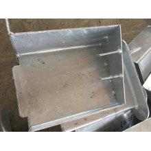 Soem-Metallbauteile für Bau-externes Treppenhaus