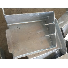 Pièces de construction en métal d'OEM pour l'escalier externe de construction