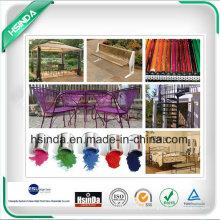 Chengdu Home Furniture Spray Ral Color Electrostatic Powder Paint Coating