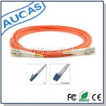 High quality fiber patch cords cables lc/pc duplex simplex sm mm