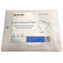 Mascarilla FFP2 plegable anti-smog a prueba de polvo para venta al por mayor