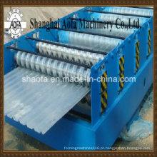 Máquina formadora de rolo de chapa ondulada de aço colorido (AF-R836)