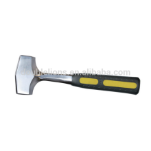 One Piece German Type Steel Handle Sledge Hammer Stone Hammer Steel Hammer