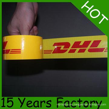 Cinta de empaquetado 48mmx66m de la cinta del embalaje de la fábrica de BOPP del OEM en Europa