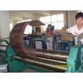 Máquina de dobra de rolos com motor
