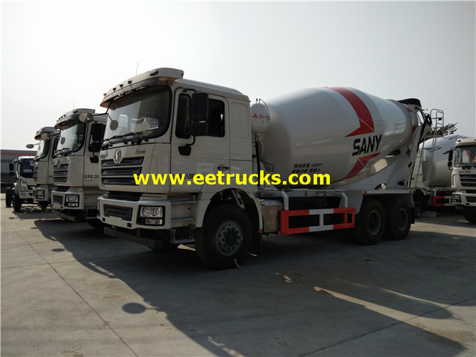 SHACMAN Beton Transit Mixing Vehicles