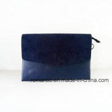 Venta al por mayor mujeres de moda PU bolsos de embrague de ante (NMDK-052202)