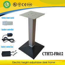 tabela ajustável da altura exterior com controlo a distância da bateria, sem fio