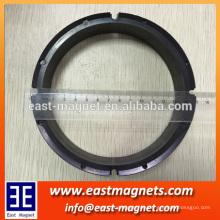 Große energiesparende Deckenventilator Magnet Rotor für Verkauf / multipolar magnetisierten großen Ring Ferrit Magnet für energiesparende Deckenventilatoren