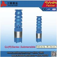Qj (R) Série Submersível Elétrica Bomba