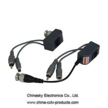 75 Ohm Video Power Balun , 1 Channel Video Power Audio Balun, VB213B&C