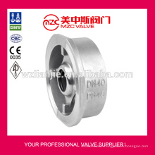 Stainless Steel Spring Loaded Wafer Check Valve PN40