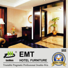 Paneles de pared de madera de los muebles ornamentales del hotel de la estrella (EMT-F1207)