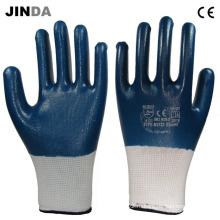 Рабочие перчатки с покрытием из нитрила с покрытием (NW001)