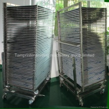TM-50ds SUS304 Drying Rack Trolley for Screen Printing Products