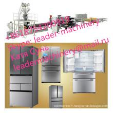 Chaîne de coextrusion de feuille de réfrigérateur de hanches de PMMA PS d'ABS \ machines de Pruduction