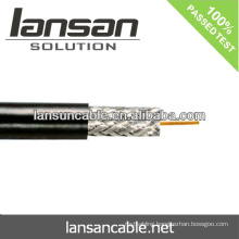 cable coaxial rg6 BC CCS coaxial cable OD:6.1mm 75Ohm good quality and factory price