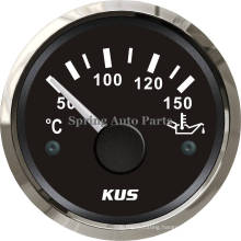 "2"" 52mm Waterproof Oil Temp Gauge Meter Cpyr-50-150 for Truck Car Boat Yacht"