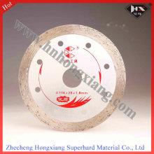 Disco de corte de diamante de 115 mm para baldosas de cerámica