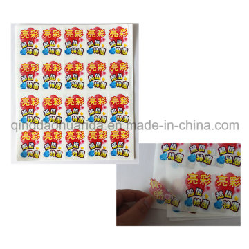 Adhesive Self Destructive Label with Custom Print