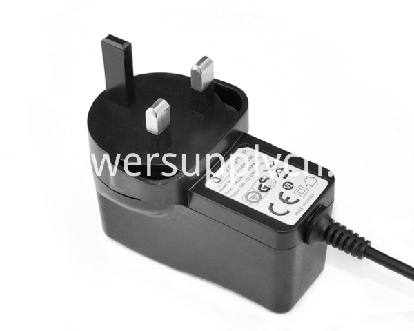 10V1.5A Adapter Interchangeable Plug