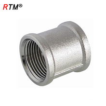 B17 4 13 equal brass coupling fitting nipple connector copper pipe connector