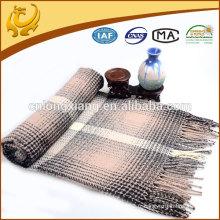 Vente en gros Custom Custom Jacquard Acrylic Throw Blanket