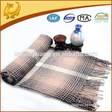 Wholesale Custom Fashion Jacquard Acrylic Throw Blanket