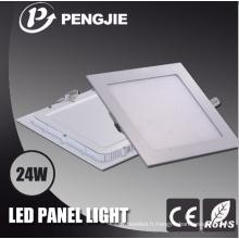 Panneau lumineux carré de 24W LED pour l'intérieur avec du CE