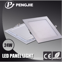 24W Square White LED Panel Light for Indoor with CE