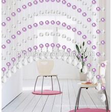 розовый кристалл бусины занавес висит каплевидной формы кристалл для украшения дверей Эко-2015