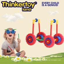 Bloc de construction de jouets créatifs pour les enfants en forme de voiture