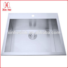 Kitchen sinks stainless steel by welding canton fair best selling product