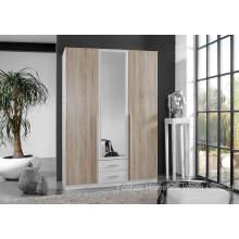 Libre de pie armario dormitorio con espejo (HF-EY08282)