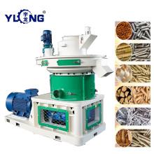 Máquina de tratamiento de pellets de madera de caucho